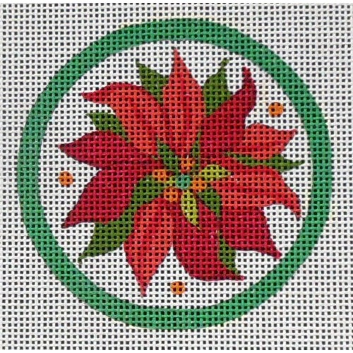 click here to view larger image of Poinsettias (hand painted canvases)