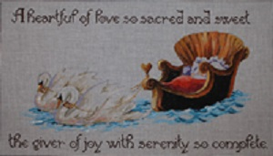 click here to view larger image of Heartful of Love, A (hand painted canvases)