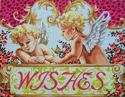 click here to view larger image of Wishes (hand painted canvases)