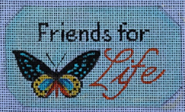 click here to view larger image of Friends for Life (hand painted canvases)