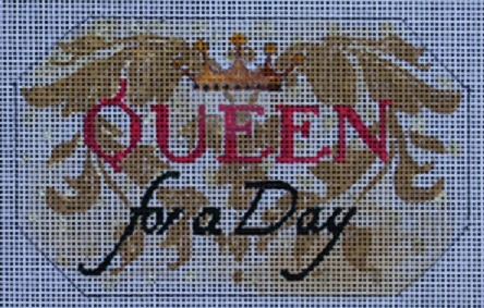 click here to view larger image of Queen for a Day (hand painted canvases)