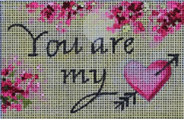 click here to view larger image of You Are My ... (hand painted canvases)