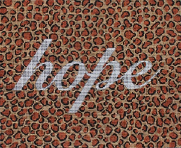 click here to view larger image of Hope (hand painted canvases)