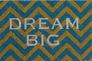 click here to view larger image of Dream Big (hand painted canvases)