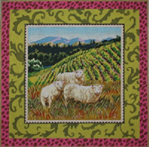 click here to view larger image of Sheep (hand painted canvases)