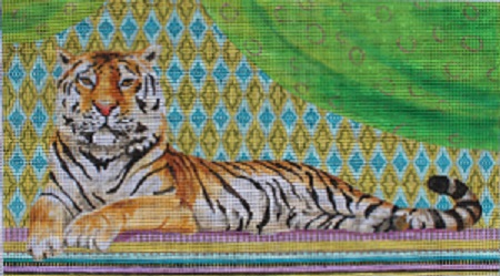 click here to view larger image of Vintage Tiger (hand painted canvases)