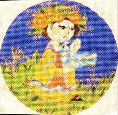 click here to view larger image of Wiinblad A (hand painted canvases)