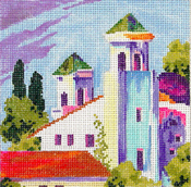 click here to view larger image of Greece (hand painted canvases)