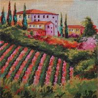 click here to view larger image of Tuscany (hand painted canvases)