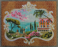 click here to view larger image of Colors of Crete (hand painted canvases)