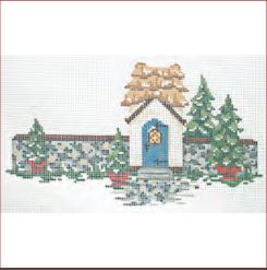 click here to view larger image of Winter Village - Village Gate House Stitch Guide (books)