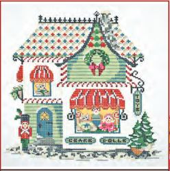 click here to view larger image of Winter Village - Village Toy Shoppe Stitch Guide (books)