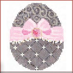 click here to view larger image of Chocolate Ribbon Egg Stitch Guide (books)