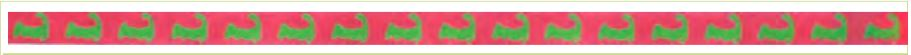 click here to view larger image of Cape Cod Logo Belt (Pink Background) (hand painted canvases)