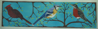 click here to view larger image of Bird Trio (hand painted canvases)