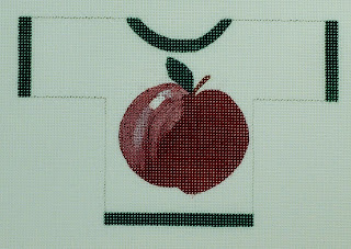 click here to view larger image of Apple Sweater (hand painted canvases)