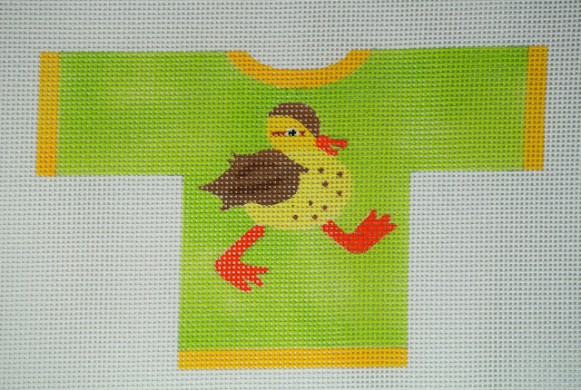 click here to view larger image of Duck Sweater (hand painted canvases)