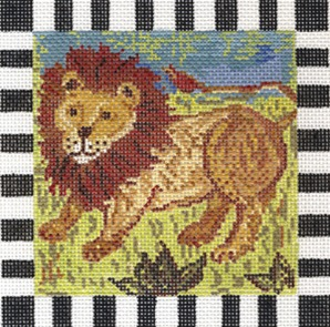 click here to view larger image of Larry Lion (hand painted canvases)