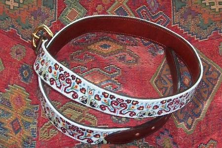 click here to view larger image of Czech Folk Belt (hand painted canvases)