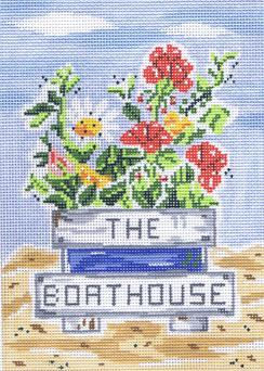 click here to view larger image of Boathouse, The (hand painted canvases)