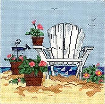 click here to view larger image of Spring Chair (hand painted canvases)
