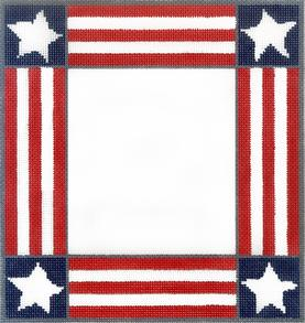 click here to view larger image of America Frame (hand painted canvases)