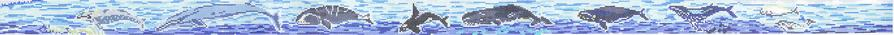 click here to view larger image of Whale Belt (hand painted canvases)