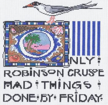 click here to view larger image of Robinson Crusoe (hand painted canvases)