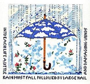 click here to view larger image of Rain Must Fall (hand painted canvases)