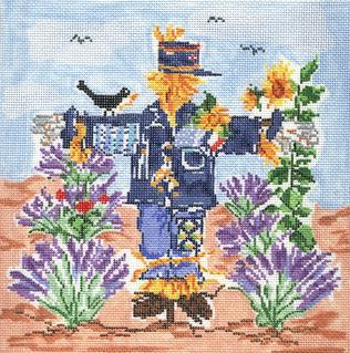 click here to view larger image of Garden Scarecrow (hand painted canvases)