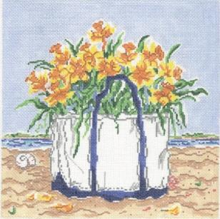 click here to view larger image of Island Spring (hand painted canvases)