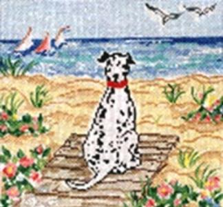 click here to view larger image of Summer Observer (hand painted canvases)