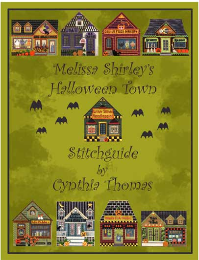 click here to view larger image of Halloween Town Stitch Guide (books)