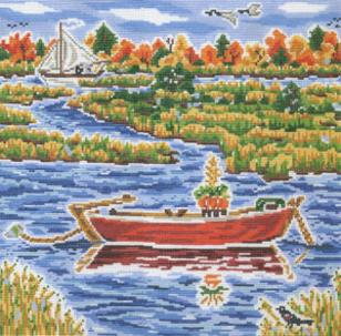 click here to view larger image of Nantucket Fall (hand painted canvases)