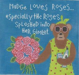 click here to view larger image of Madge 7 (hand painted canvases)