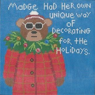 click here to view larger image of Madge 8 (hand painted canvases)