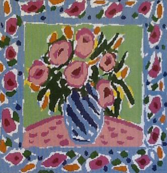click here to view larger image of Garden Bouquet C-02 (hand painted canvases)