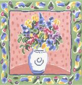 click here to view larger image of Marthas Delphinium (hand painted canvases)