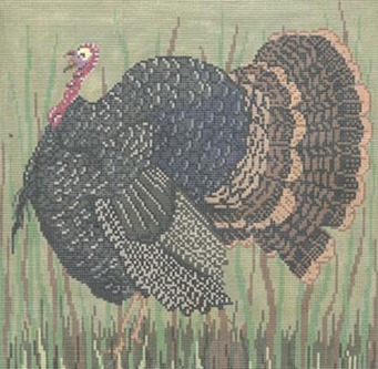 click here to view larger image of Vermont Turkey (hand painted canvases)