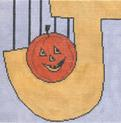 click here to view larger image of Jail/Jack O Lantern (hand painted canvases)