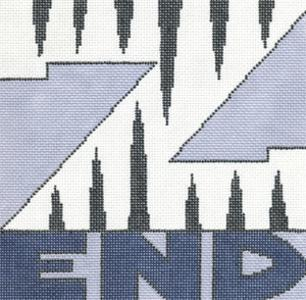click here to view larger image of Z End (hand painted canvases)