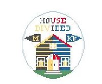 click here to view larger image of House Divided U of Missouri and KU (hand painted canvases)