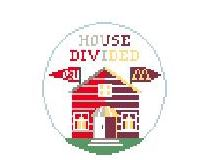 click here to view larger image of House Divided OSU and U of MN (hand painted canvases)