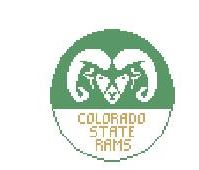 click here to view larger image of Colorado State Rams (hand painted canvases)
