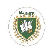 click here to view larger image of Wagner College (hand painted canvases)