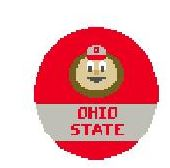 click here to view larger image of OSU Brutus (hand painted canvases)