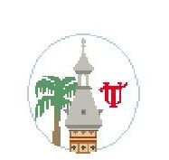 click here to view larger image of U Of Tampa, Plant Hall (hand painted canvases)