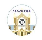 click here to view larger image of Sewanee (hand painted canvases)
