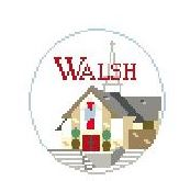 click here to view larger image of Walsh University (hand painted canvases)