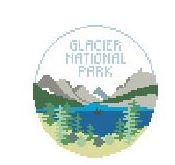 click here to view larger image of Glacier National Park (hand painted canvases)